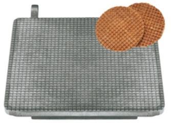 Plaque de cuisson pour gaufres