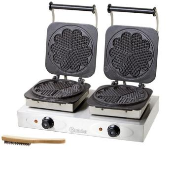 Double gaufrier professionnel