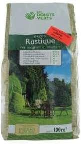 Gazon rustique vg sac 3 kg