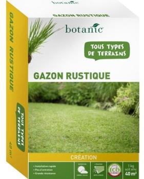Gazon Rustique Label co-durable
