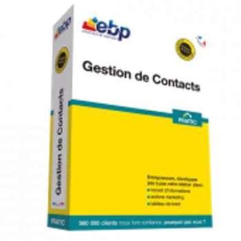 EBP - Gestion de contacts