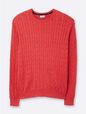 Pull col rond homme en maille