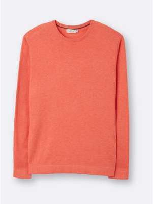 Pull col rond homme coton