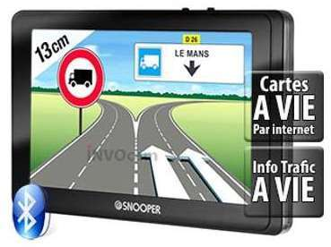 Snooper PL5200 GPS Poids lourd