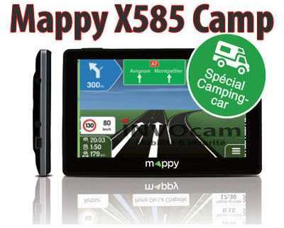 Mappy ULTI X585 CAMP GPS camping
