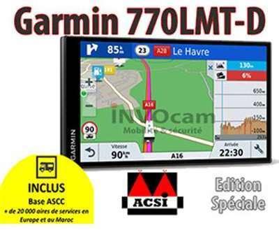 Garmin Camper 770LMT-D GPS