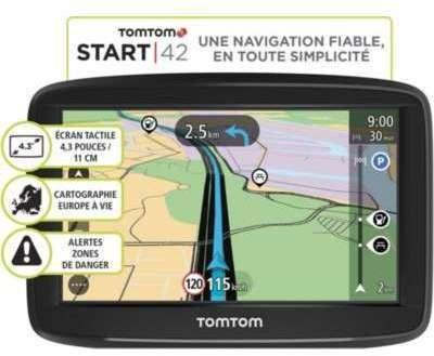 GPS Tomtom Pack Start 42 Europe