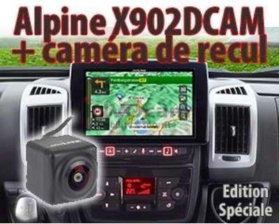ALPINE X902DCAM système 9