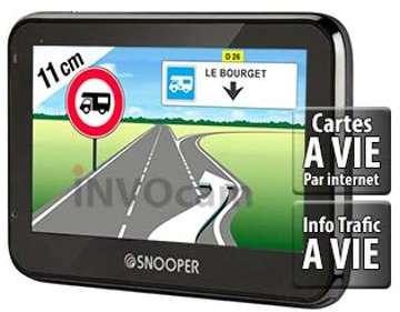 Snooper CC2200 GPS Camping