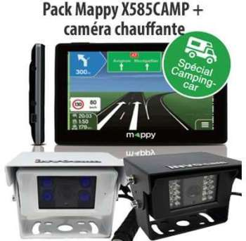 Mappy GPS Camping car ULTI