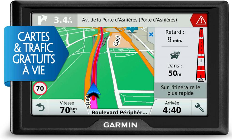 gps voiture garmin drive 50 lm. Black Bedroom Furniture Sets. Home Design Ideas