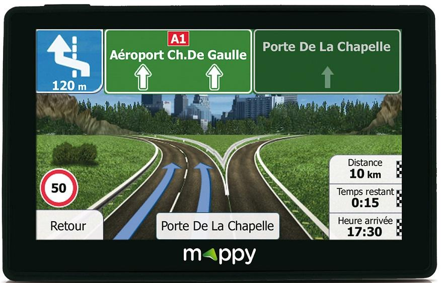 Gps-voiture MAPPY - ITIE 438