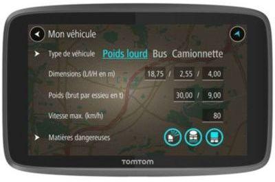 GPS Tomtom GO Professional