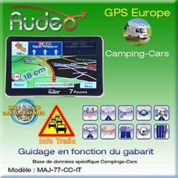 GPS camping car AUDEO 77-CC