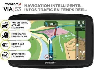 GPS Tomtom VIA 53 Europe 48
