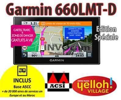 Garmin Camper 660LMT-D GPS