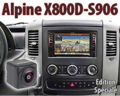 ALPINE X800DCAM système audio