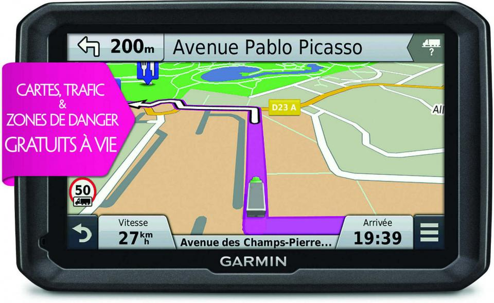 gps camion camping car garmin dezlt 570 lmt. Black Bedroom Furniture Sets. Home Design Ideas
