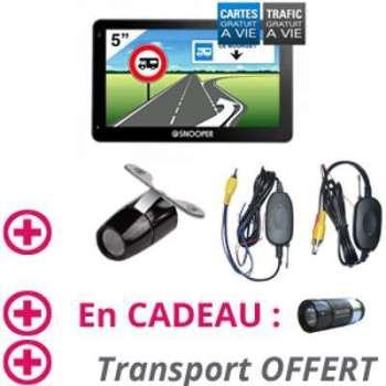 GPS Camping Car CC5400 Caméra