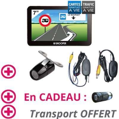 GPS Camping Car CC6600 Caméra