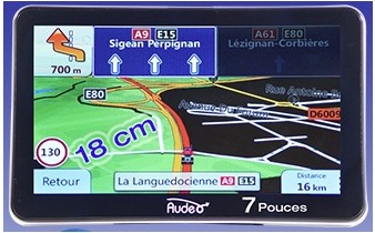 Audeo 77 PL - GPS Poids Lourds