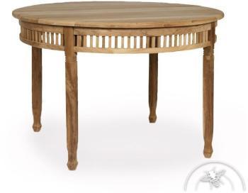 Table de jardin ronde en bois