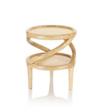 Table d appoint bois naturel