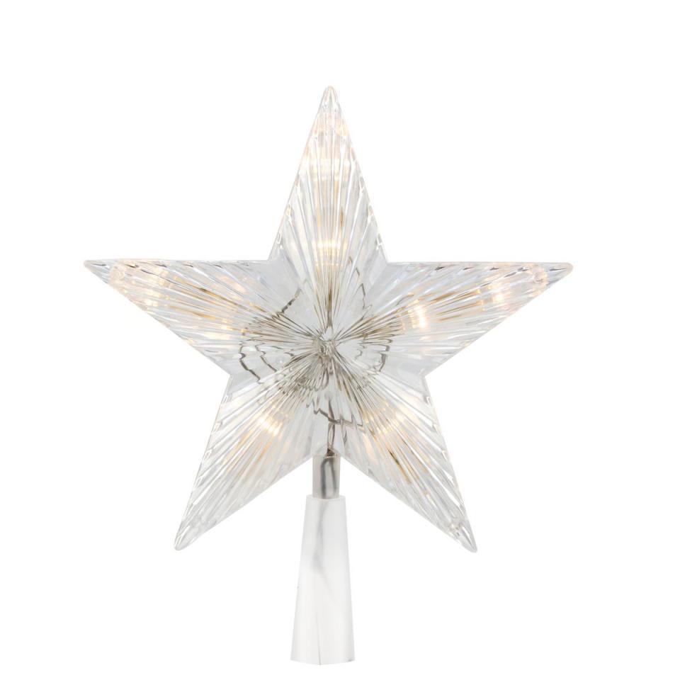 Cimier Etoile 20 cm Blanc