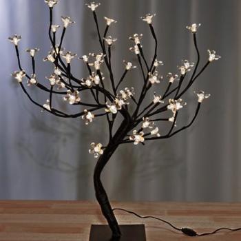 Cerisier lumineux 48 LED blanc