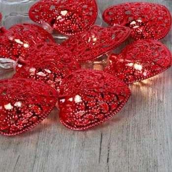 Guirlande Lumineuse Coeurs
