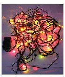 Guirlande 100 LED multicolores