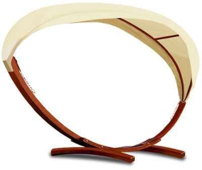 Cadre pour hamac en bois avec