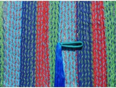Hamac mexicain multicolor