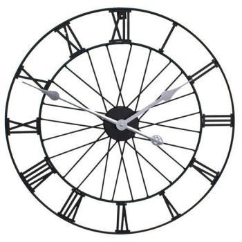 Horloge De Jardin En Métal