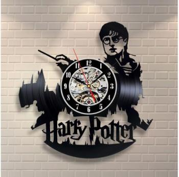 Horloge Vinyle Harry Potter