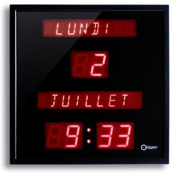 Horloge LED Date et Heure