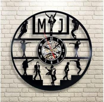 Horloge Vinyle Michael Jackson