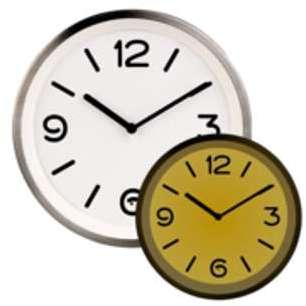 Horloge murale à quartz avec