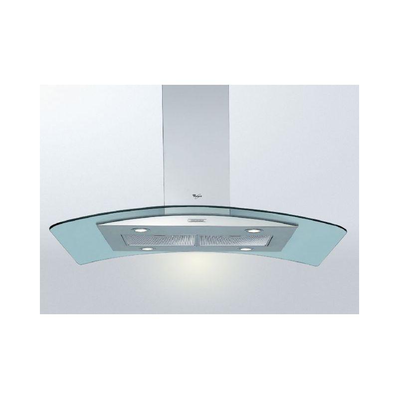Hotte decorative ilot whirlpool akr951ix 01 for Hotte whirlpool