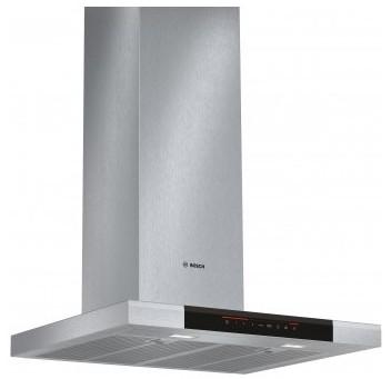 Bosch dwb068j50 hotte dcorative 60cm inox for Hotte de cuisine bosch