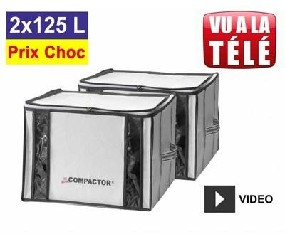 Lot promo de 2 housses Compactor