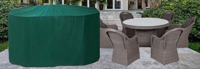 Awesome Housse Salon De Jardin Rond Images - Design Trends 2017 ...