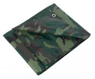 Bâche de protection camouflage