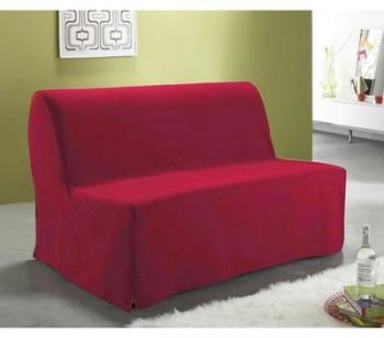 Housse BZ dos couvert rouge