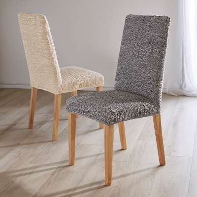 Housse chaise extensible pliss