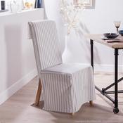 Housse de chaise polycoton