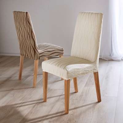 Housse chaise extensible jacquard