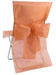 Housse de chaise avec noeud