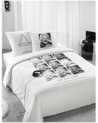 dc tableau en toile marilyn monroe in broadway. Black Bedroom Furniture Sets. Home Design Ideas