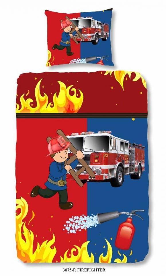Recherche pompier du guide et comparateur d 39 achat for Housse de couette pompier